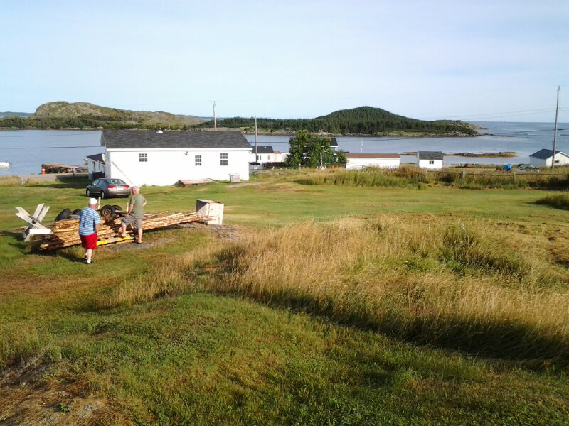 Staying at Cyril's: Island Harbour, Fogo Island (3/6)
