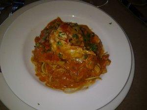 Lobster and spaghettini