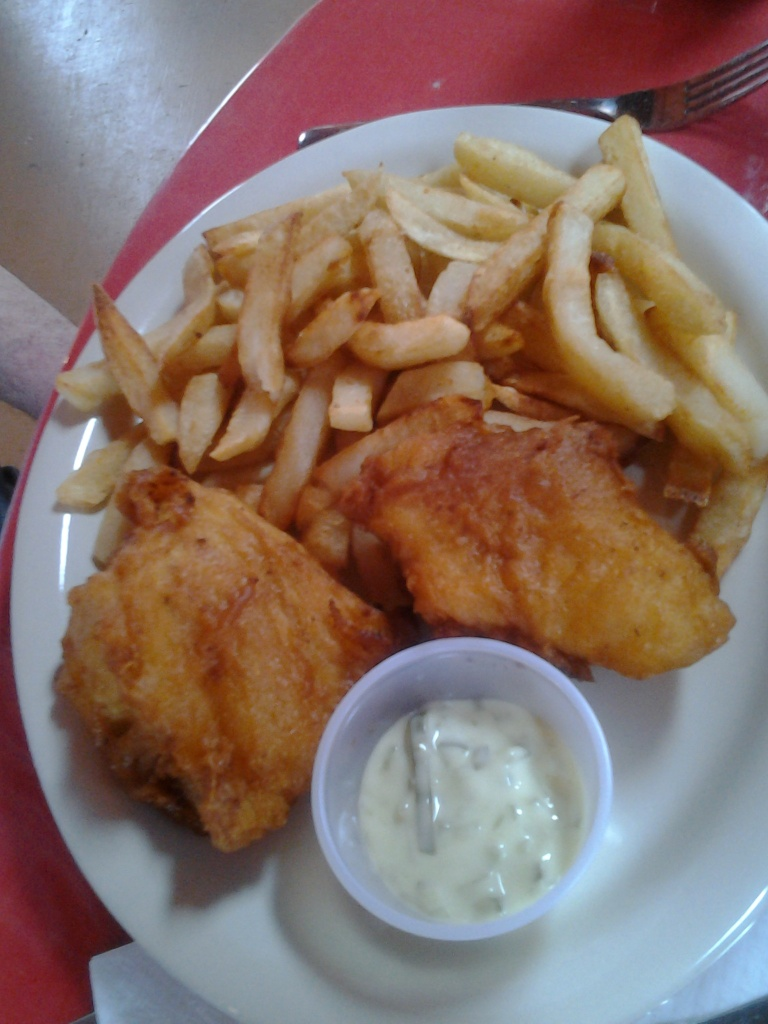 Doyle Samsone Lobster Pool Fish and Chips