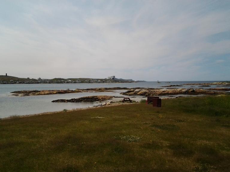 View of Fogo Island Inn