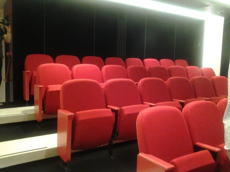 Cinema in Fogo Island Inn
