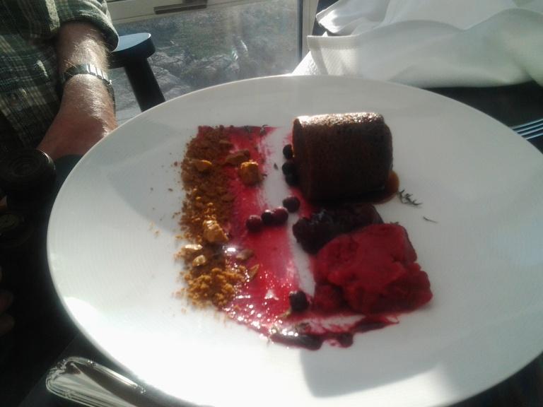 Partridge Berry non-tart, Fogo Island Inn