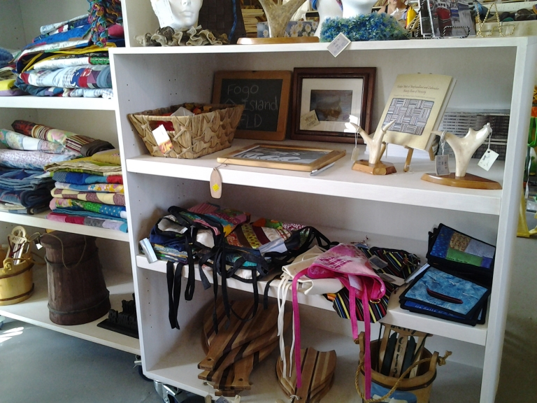 Wind and Wave Craft Guild shop, Joe Batt's Arm, Fogo Island