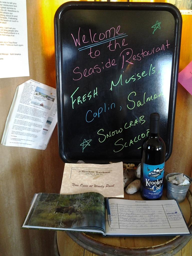 Seaside Restaurant, Trout River,NL