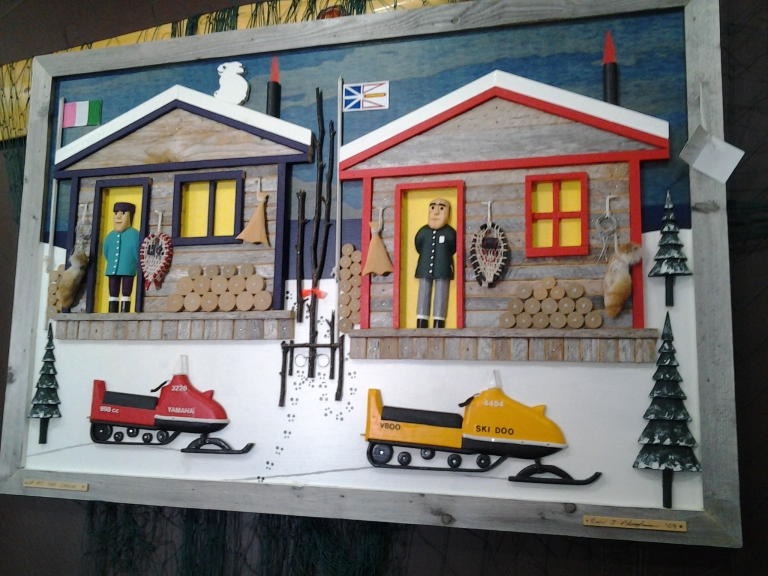 Another great work by Port aux Choix artist Ben Ploughman.