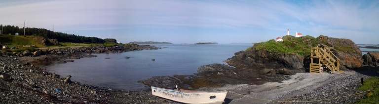 Panorama of Ship Cove, NL