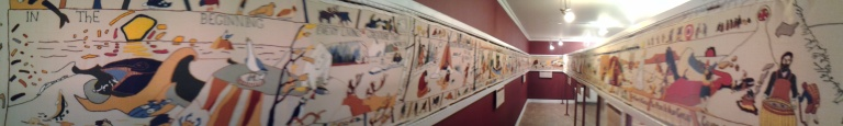 Tapestry in Conche Interpretation Centre and Museum
