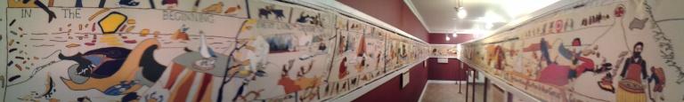 Tapestry in Conche Interpretation Centre and Museum