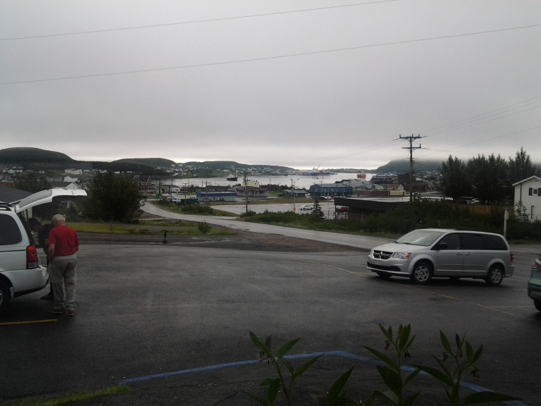 Looking out from St. Anthony, NL