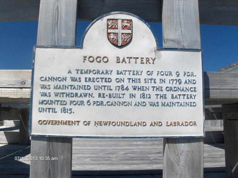 Fogo Battery trail