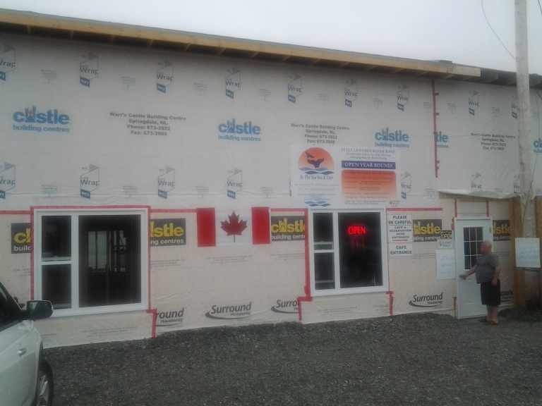 By the Sea Café and Resort, Kings Point, NL under expansion again!