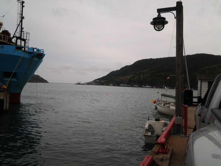 The Narrows, the entrance to and exit from St. John's Harbour, NL
