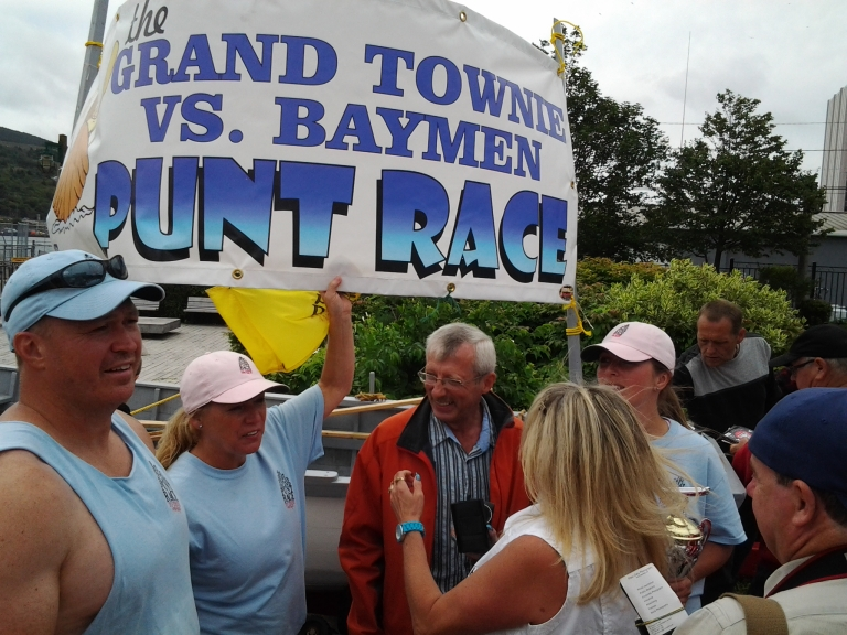 Grand Townie vs Baymen first annual punt race 2013
