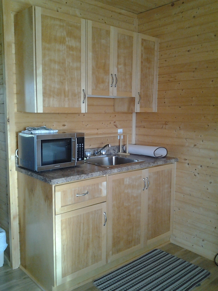 Penney's Efficiency Units feature a fridge, dishes and small appliances, Little Seldom, Fogo Island, NL