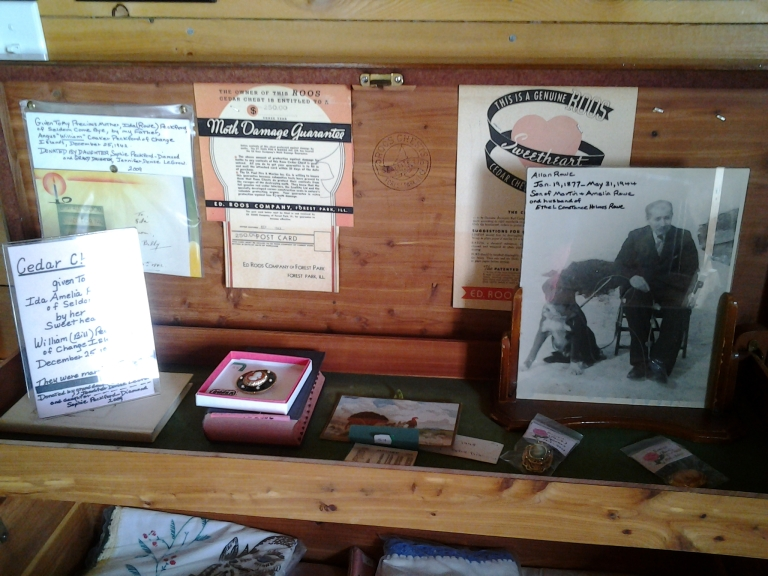 Cedar Chest, Marine Interpretation Centre, Seldom, NL