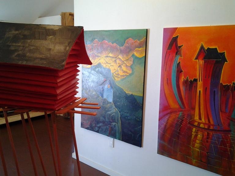 Adam Young's Studio, Shoal Bay, Fogo Island, NL