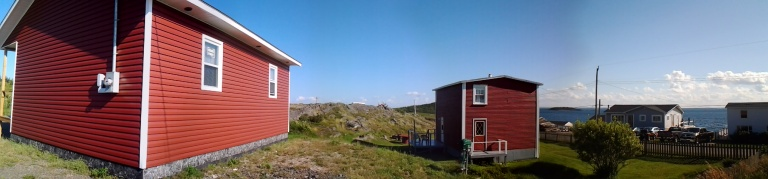 Penney's Vacation Home (right) and Efficiency Units (left), Little Seldom, Fogo Island