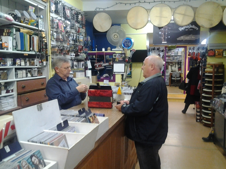 O'Brien's Music Store, St. John's, NL