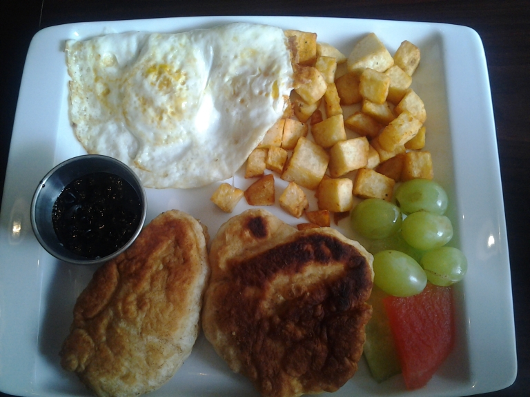 Breakfasts at Oliver's, Water Street, St. John's.
