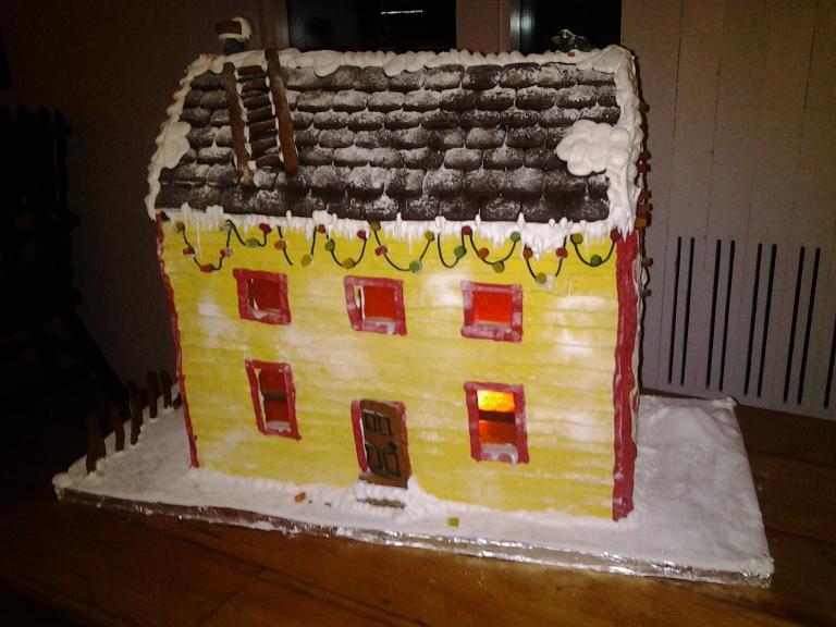 Gingerbread House, Fogo Island Inn