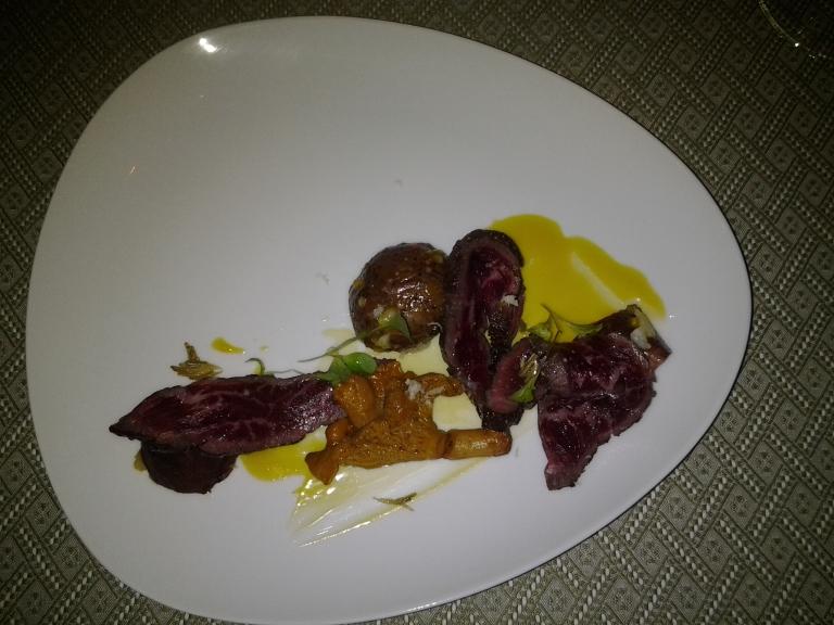 Spruce potato salad