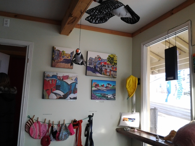 Original and print art works available at the Crows Nest Café