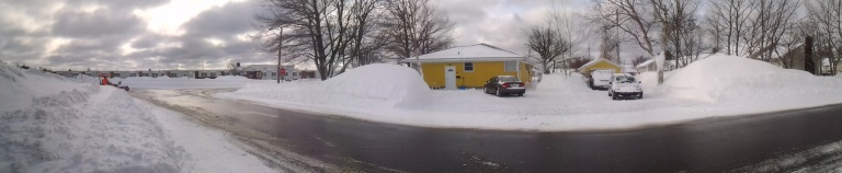 No signs of spring, March 15, 2014 in Gander, NL
