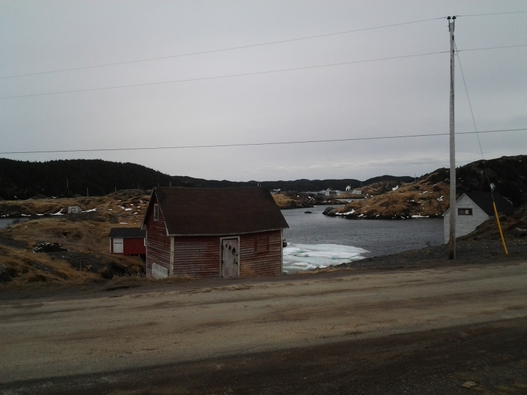 The view from the Old Salt Box House, Salt Harbour Island, NL