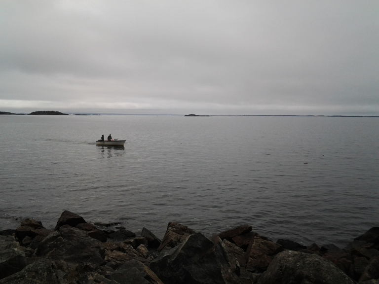 Lobster fishermen, Little Seldom, Fogo Island May 31, 2014