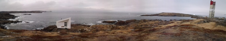 Turpin's Trail and Squish Studo with icebergs. Too panoramic for one picture.