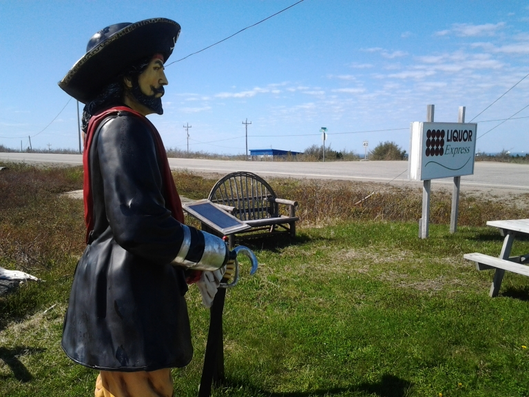 Not the first outlaw I've heard of from this area. Lumsden, NL
