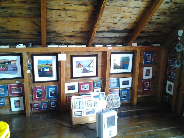 Local Art, Iceberg Man Boat Tour gift shop