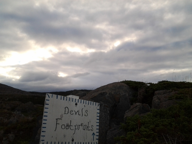 Loved finding this sign for the first time years ago, Keels, NL July 5, 2014