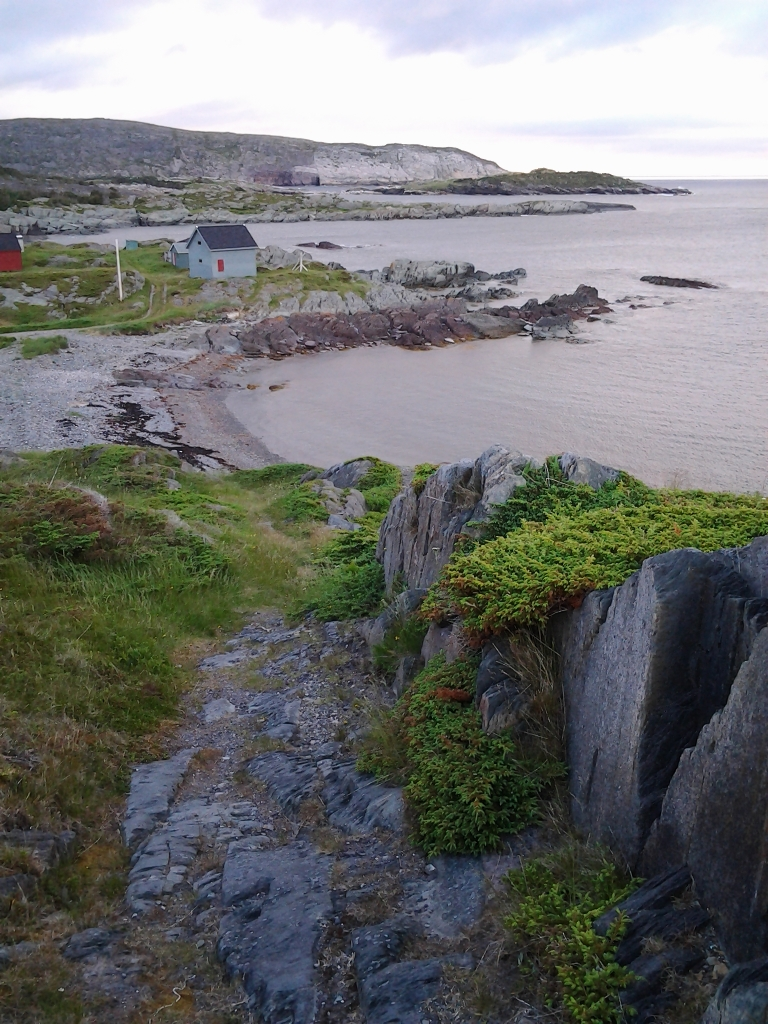 One of many beautiful views in Keels, Newfoundland and Labrador, July 5, 2014