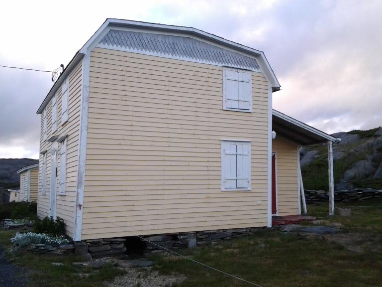 Billy Wheeler House, Keels, NL July 5, 2014