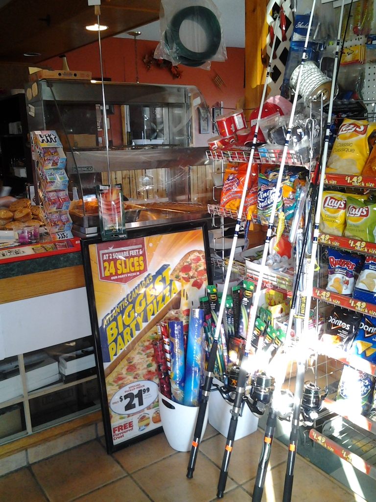 Chester's Eatery. Fishing rods, fireworks and wifi among other great services and products. Thanks Ross.