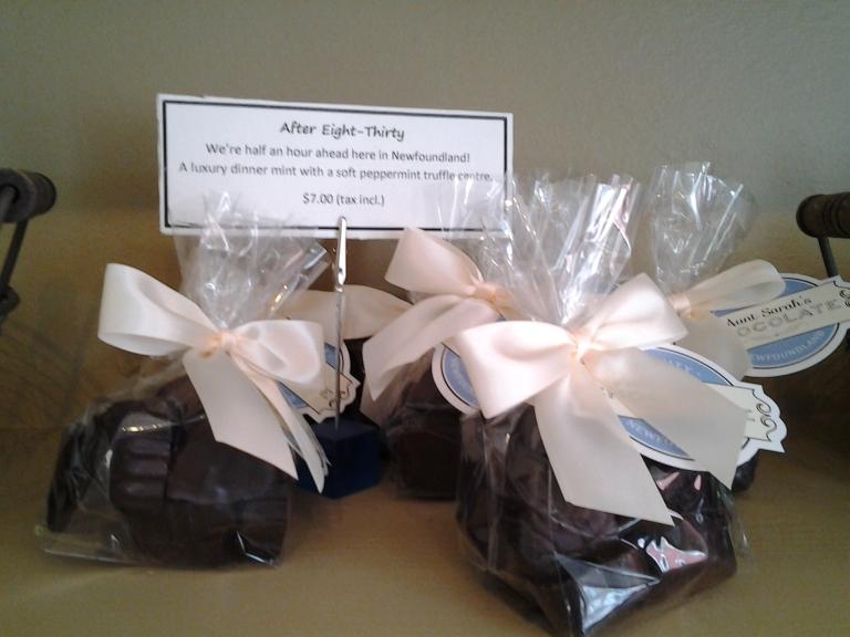Aunt Sara's Chocolates, Trinity NL
