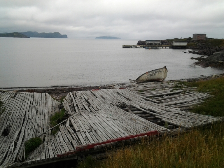 Old slipway in Open Hall, NL