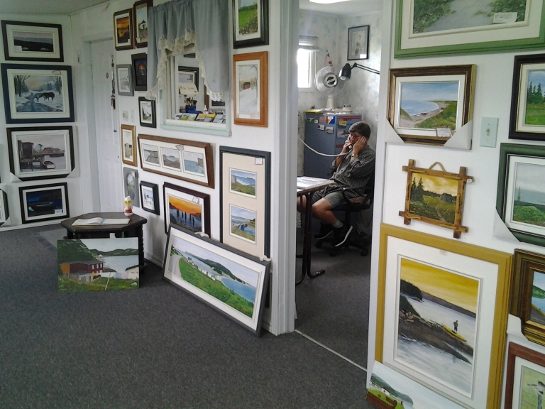 Island Studio Art Gallery, Mainland, Newfoundland