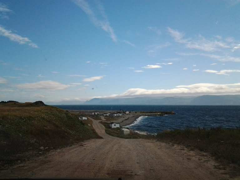 Approaching Blue Beach, NL