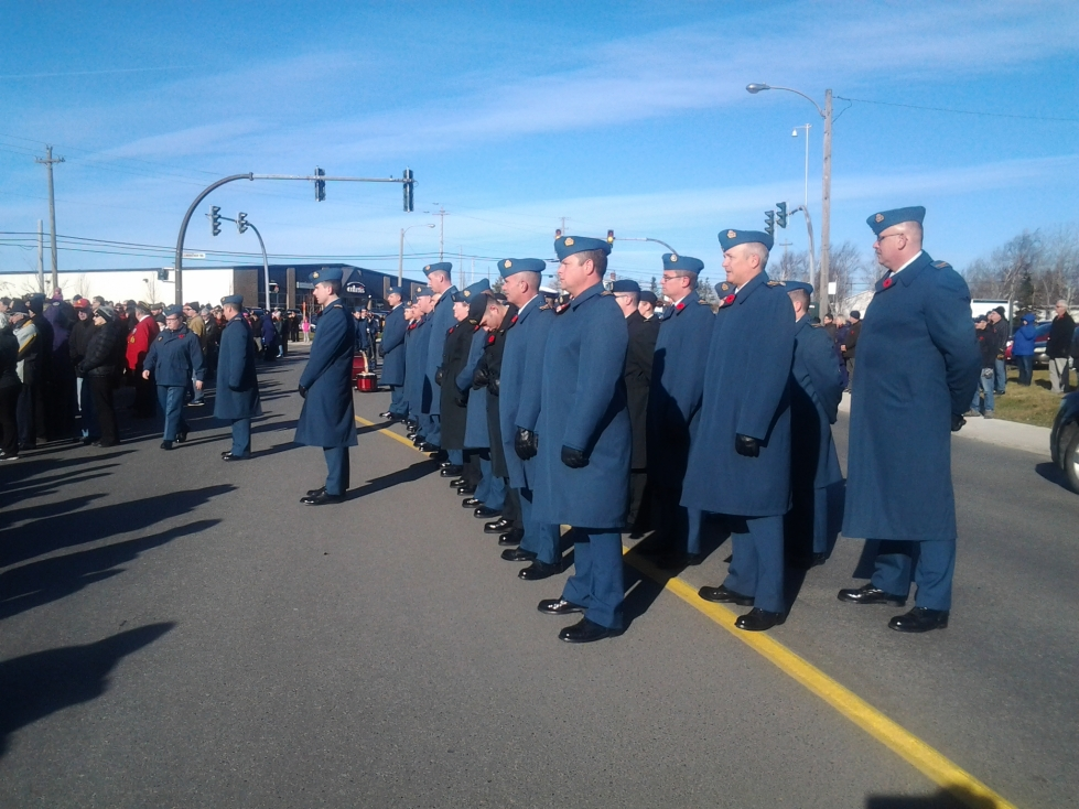 Remembrance Day 2014, Gander, NL