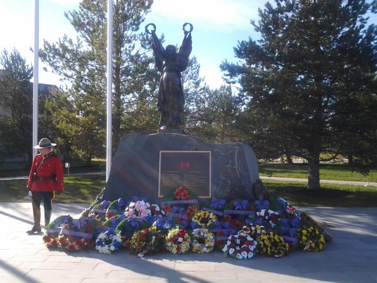 Remembrance Day, Gander, 2014