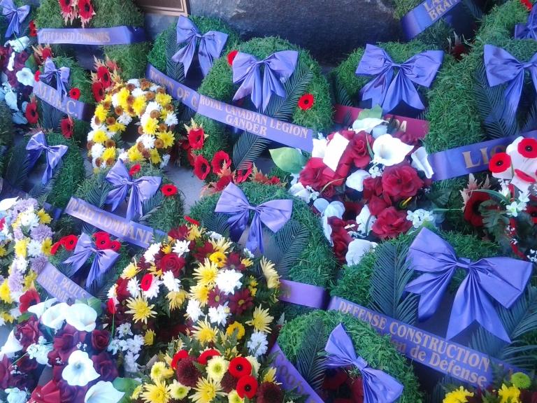 Remembrance Day 2014, Gander, NL