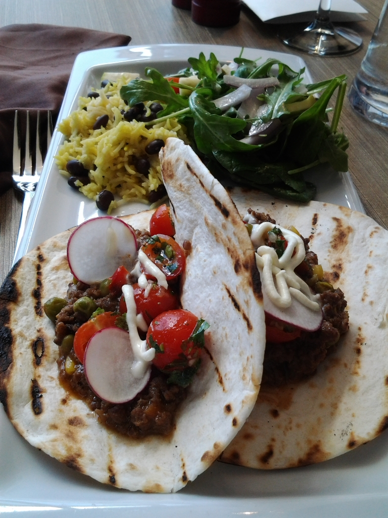 Moose Tacos, Exile Restaurant, JAG Hotel, St. John's.