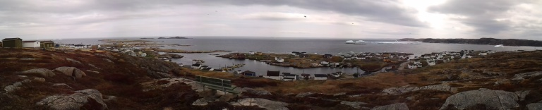 Scenes from Greenspond, May 2015 and month before this trip.