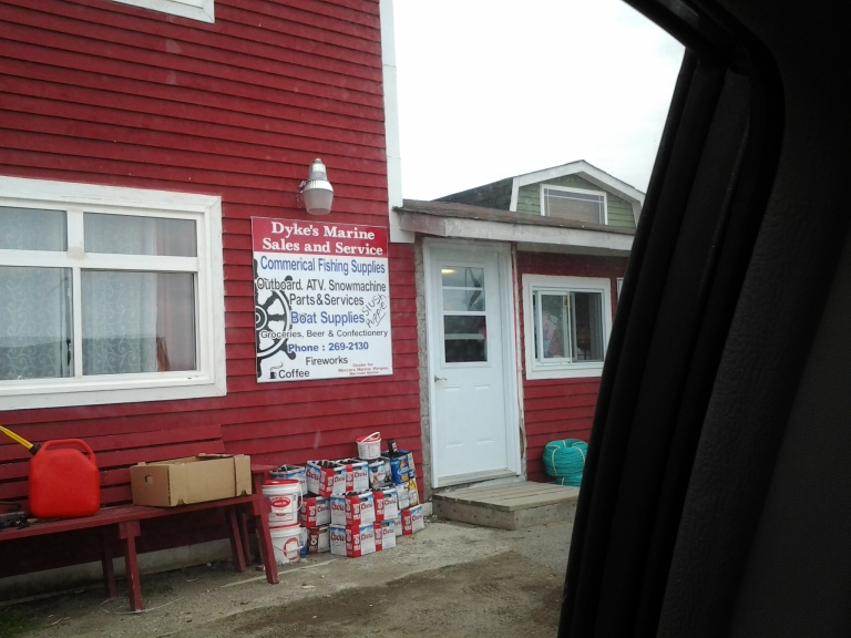 Marine services, cold plates, groceries and beer, what more could you need in Greenspond, NL?